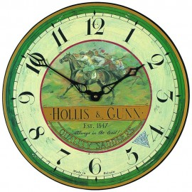 Country Races Wall Clock 36cm