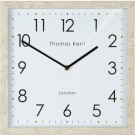 Smithfield Soaped Oak Wall Clock 30cm