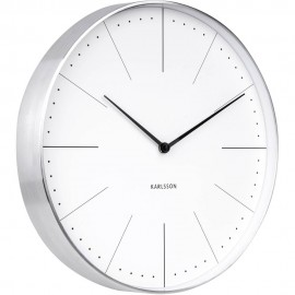 Normann White Wall Clock 37.5cm