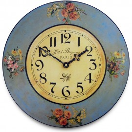 Bouquets Wall Clock 36cm