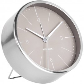 Normann Grey Alarm Clock 10cm
