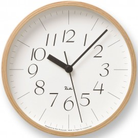 Small Riki Wall Clock 20.3cm