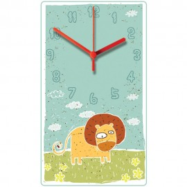 Lion Wall Clock 30.5cm