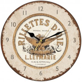 Rillettes D'Oie Shabby Chic Wall Clock 28.5cm