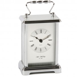 Silver colour Carriage Clock 9cm