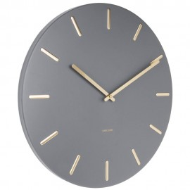 Charm Grey Wall Clock 45cm