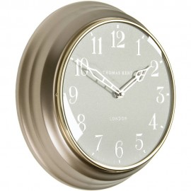 Campbell Bronze Wall Clock 30cm