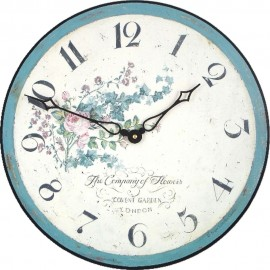 Climbing Rose Wall Clock 36cm