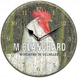 Blanchard Marchand De Volailles Wall Clock 28.5cm