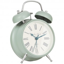 Sweeping Medium Charlotte Alarm Clock 17cm