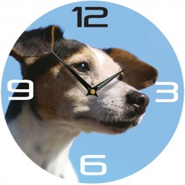 Jack Russell Wall Clock 28.5cm
