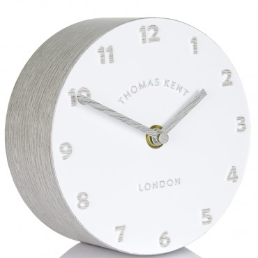 Osprey Silver Birch Mantel Clock 15cm
