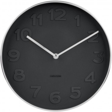 Mr. Black Wall Clock 27.5cm