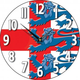 Three Lions Wall Clock 28.5cm