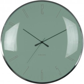 Dragonfly Green Wall Clock 40cm