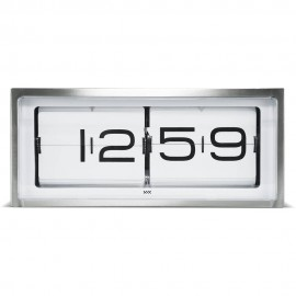 Brick Stainless Steel Wall Clock 36cm
