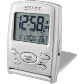 Vista Radio Controlled Digital Alarm Clock 9cm