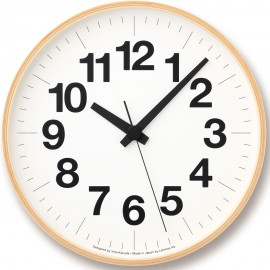 Silent Numbers Wall Clock 30.5cm