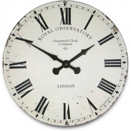 Greenwich Cream Wall Clock 70cm