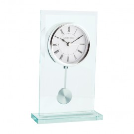 Flat Top Pendulum Mantel Clock 22cm