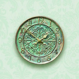 Verdant Outdoor Wall Clock 30cm