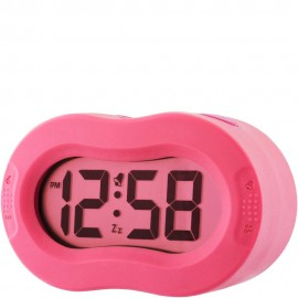 Hot Pink Vierra Alarm Clock 11cm