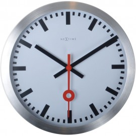 Station Wall Clock With Second Hand 19cm or 35cm