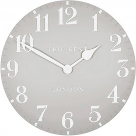 Arabic Wall Dove Grey Wall Clock 50cm