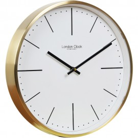 Gold Case Wall Clock 30cm