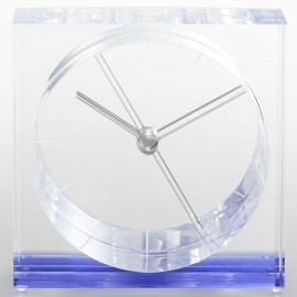 Iris Mantle Clock 12cm
