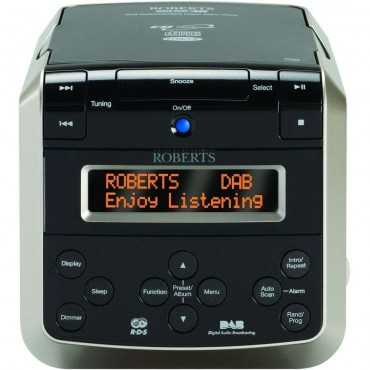 Sound-38 Multi Alarm Clock With CD Player & DAB/FM Radio