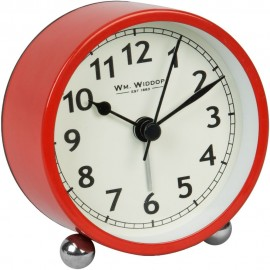 Alarm Clock 8cm - Red