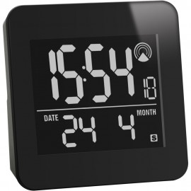 Radio Controlled IR Motion Sensor Alarm Clock 8cm