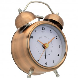 Wake Up Copper Alarm Clock 12cm, 21.5cm or 30cm