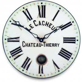 Le Cacheaur Wall Clock With Pendulum 41cm