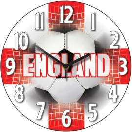 England Supporter Wall Clock 28.5cm