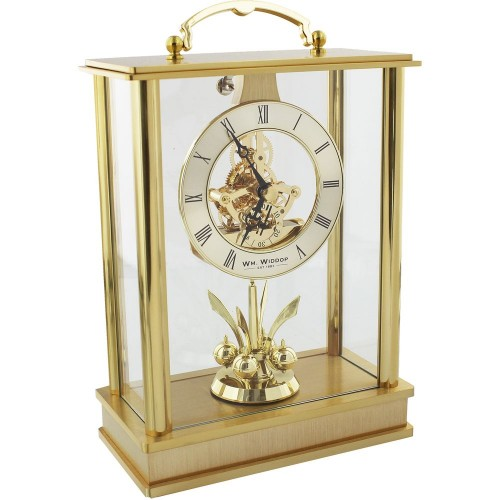 Lantern Mantel Clock Skeleton/Rotating Pendulum 14.5cm