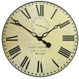 Caledonian Railway Wall Clock 49cm