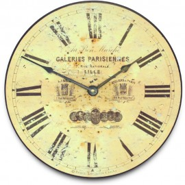 Galeries Parisiennes Lille Wall Clock 36cm