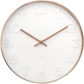 Mr White Copper Wall Clock 37.5cm