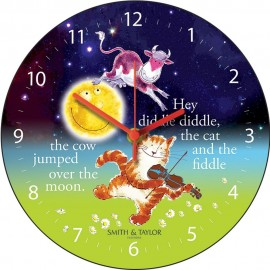 The Cow Jumped Over The Moon Wall Clock 28.5cm