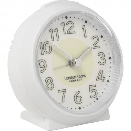Small White Alarm Clock 8cm