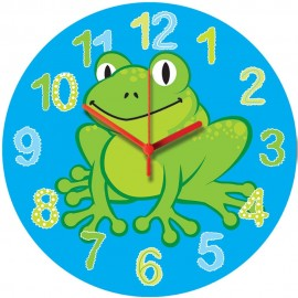 Happy Frog Wall Clock 28.5cm