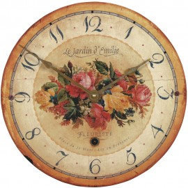 Emilie Rose Wall Clock 36cm
