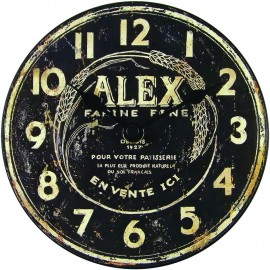 Alex Mantel Clock 15cm