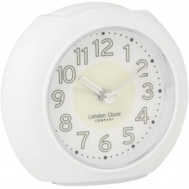Large White Alarm Clock 10cm