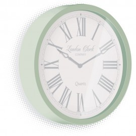 Alice Green Wall Clock 30cm