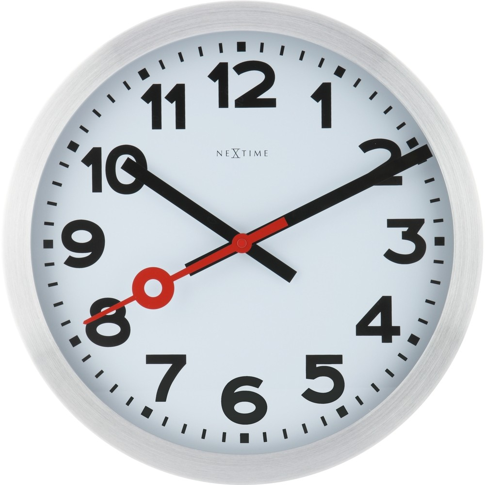 Wall clock with second hand 19cm or 35cm numbers wall clock with second hand 19cm or 35cm amipublicfo Image collections