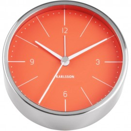 Normann Orange Alarm Clock 10cm