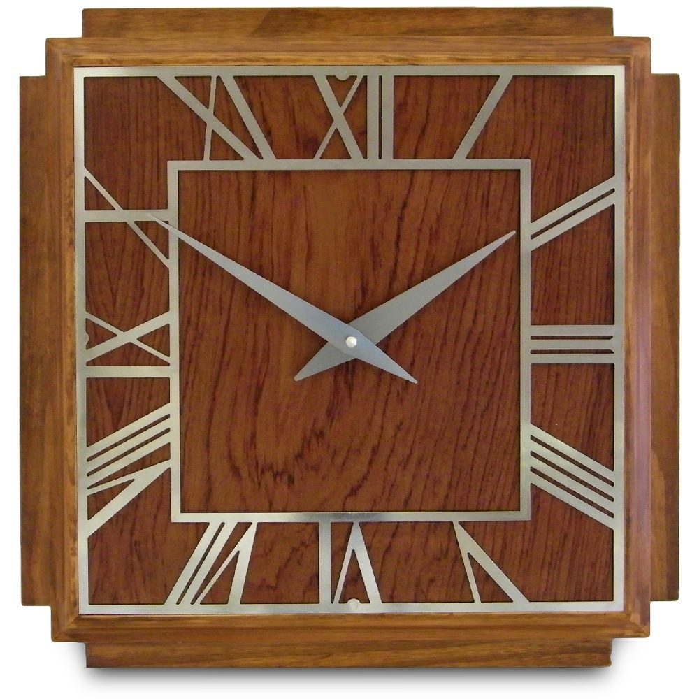 1930 u0026 39 s art deco wall clock 36cm